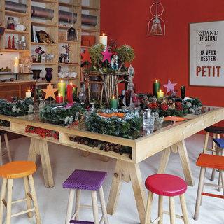 Navidad ideas gourmet originales for Imagenes de mesas navidenas