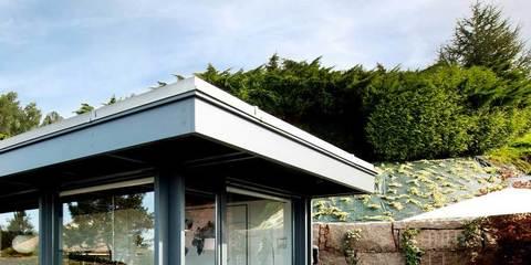 Abierta al exterior for Casas de diseno galicia