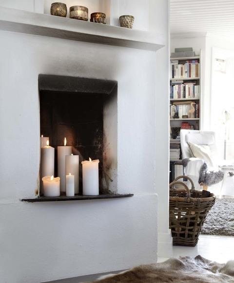 Frente al fuego - Calefaccion con velas ...