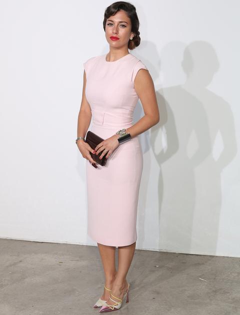 Rosa palo el color favorito de las celebrities