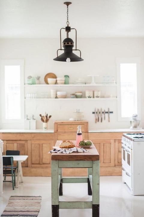 Quiero una cocina vintage - Mesas cocina vintage ...