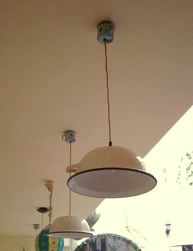 L mparas diy - Lamparas de techo hechas en casa ...