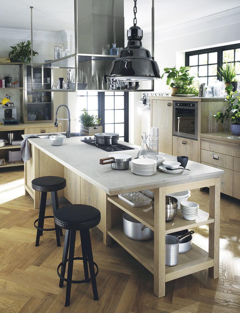 Muebles De Cocina Estilo Retro. Beautiful Cocina Vintage Paos De ...