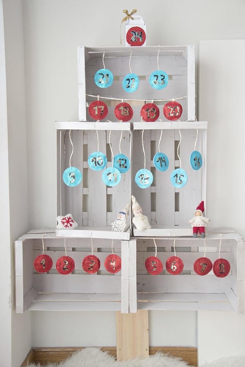 Cajas de fruta decoracion mueble para la tv con palets y - Cajas de fruta decoracion ...