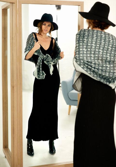 2864a8a56 Como llevar un chal con vestido largo – Hermosos vestidos