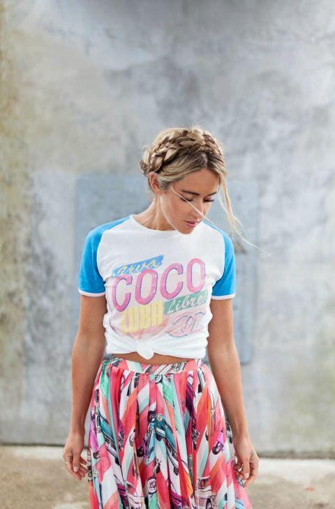 La camiseta 39 coco cuba 39 ya tiene versi n 39 low cost 39 for Authentic chanel logo t shirt