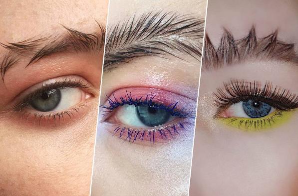 Estos son los nuevos dise os de cejas que est arrasando - Maneras de pintar los ojos ...