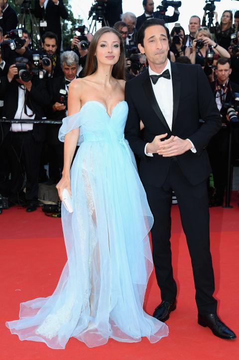 Lara Lieto y Adrien Brody