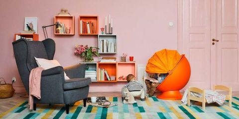Casas de dise o casas de famosos - Ikea modulos salon ...