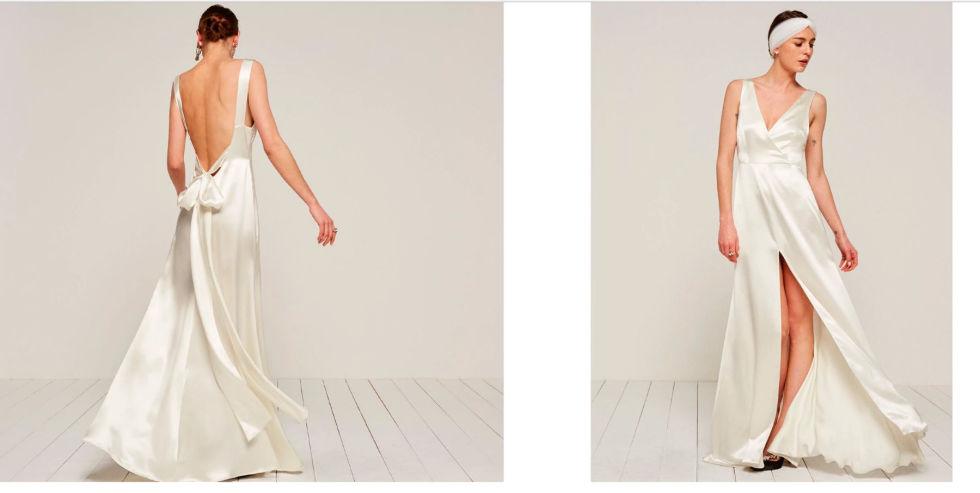 La nueva colección de novias de Reformation, con vestidos que cuestan entre 240 y 456 euros.